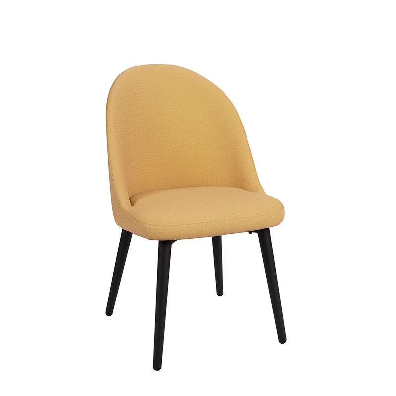 silla como tapizado mostaza REYMA
