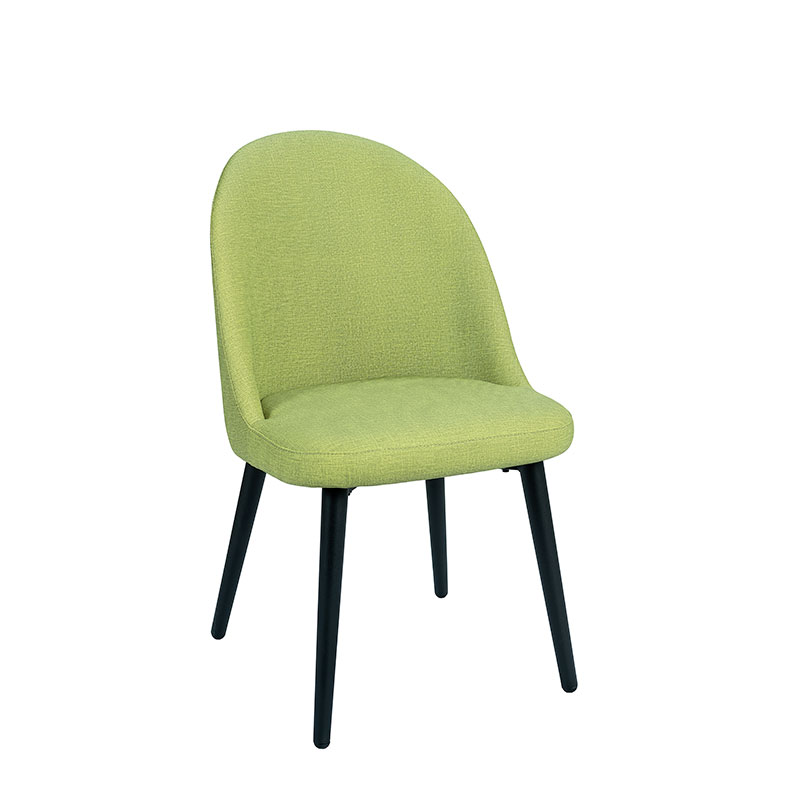 silla como tapizado verde REYMA