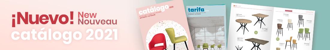 catálogo 2021 mobiliario para hostelería