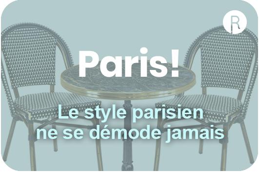 style parisien mobilier pour hotelerie