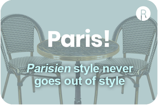 parisien style contract furniture