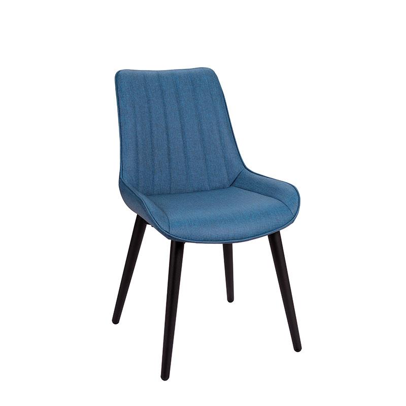 silla rialto tapizado azul REYMA