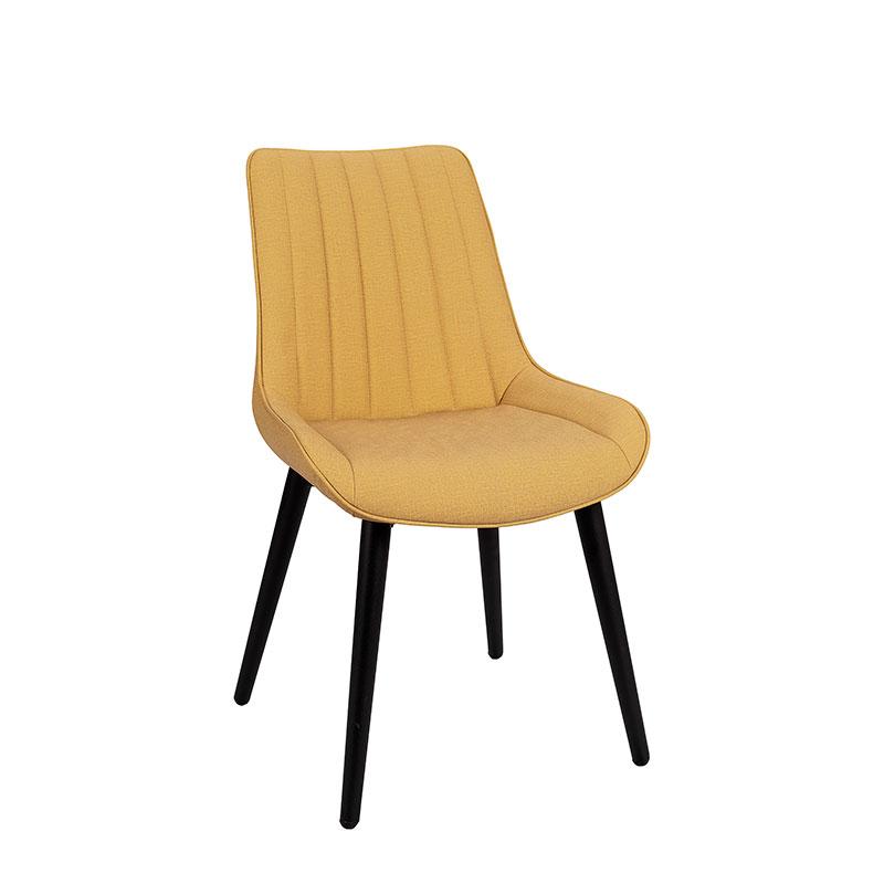 silla rialto tapizado mostaza REYMA