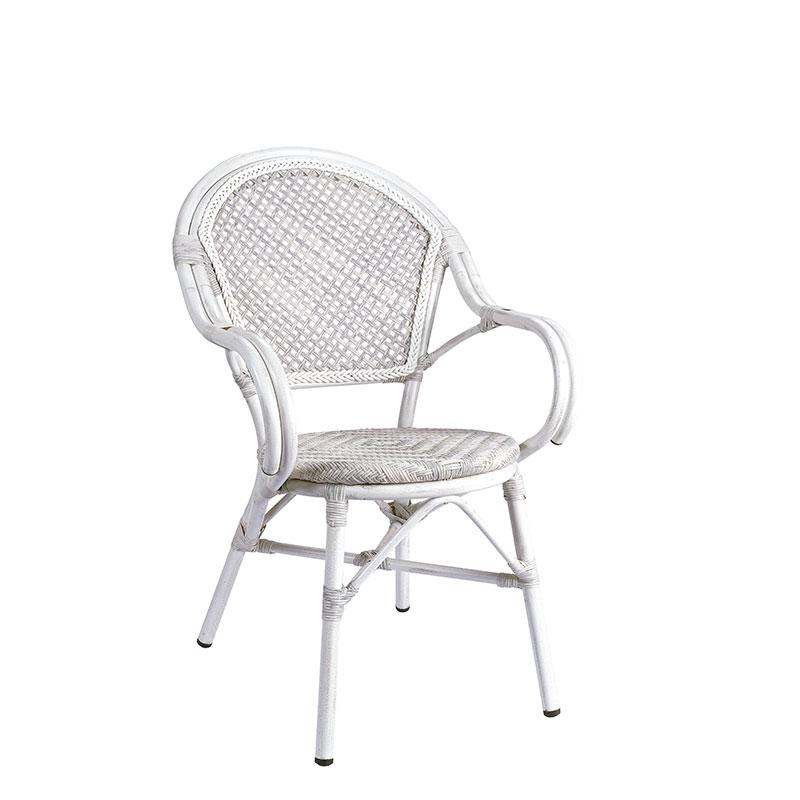 sillón anna medula blanco