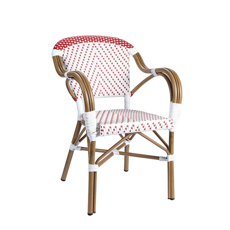 sillon biarritz medula blanco y rojo