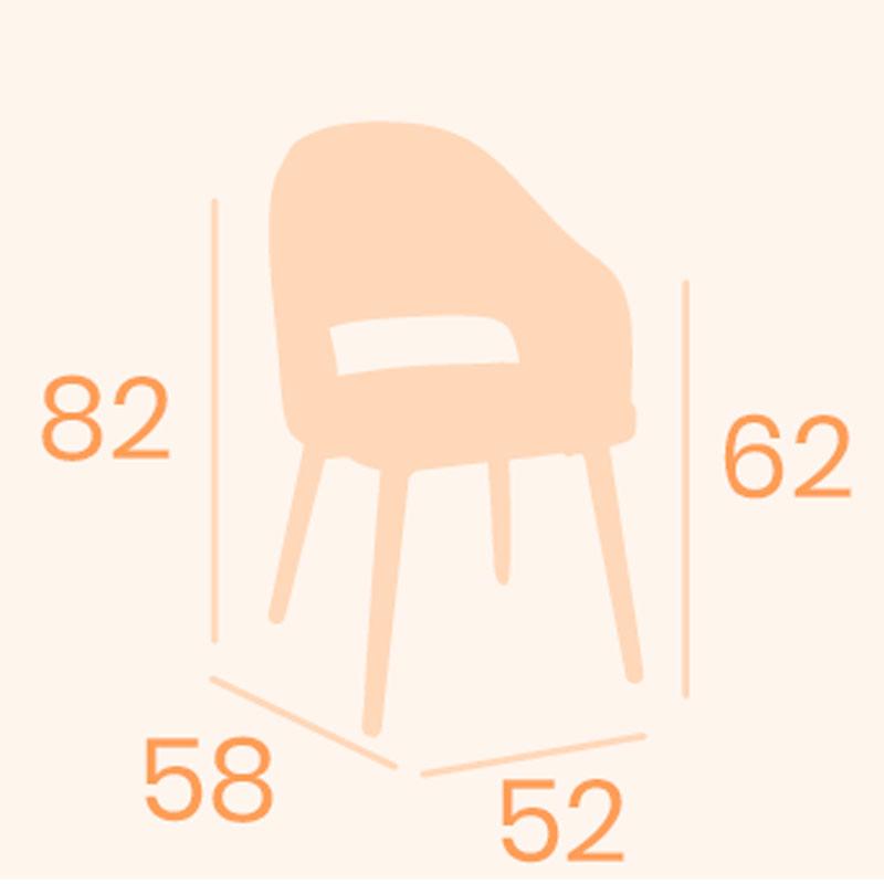 Dimensiones sillón cremona REYMA