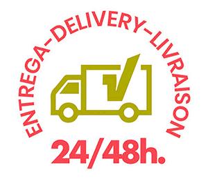 envío mobiliario hostelería en stock 24 a 48 horas