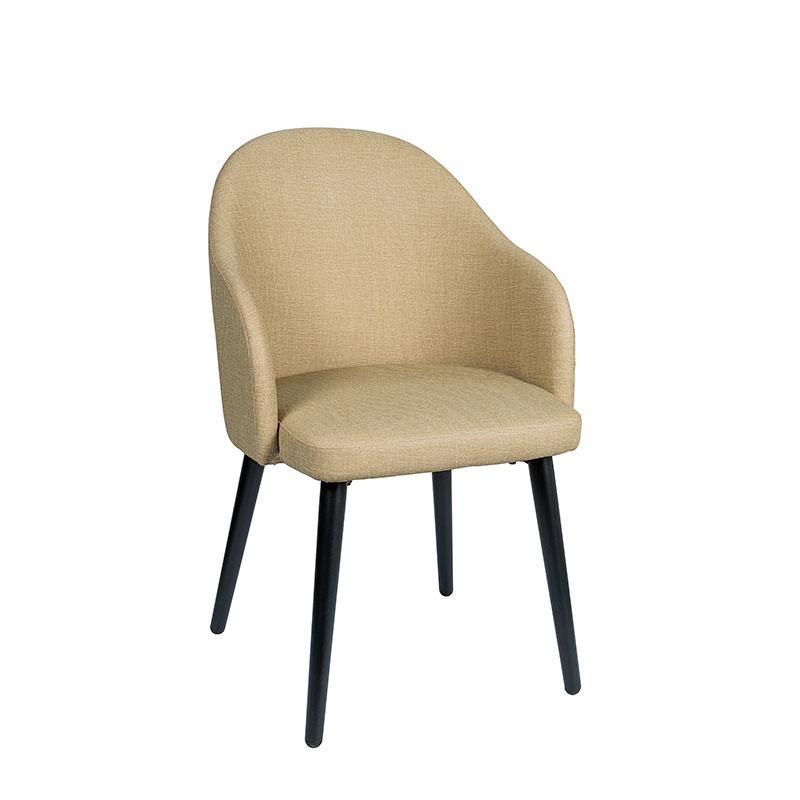 sillón monza tapizado sandalo