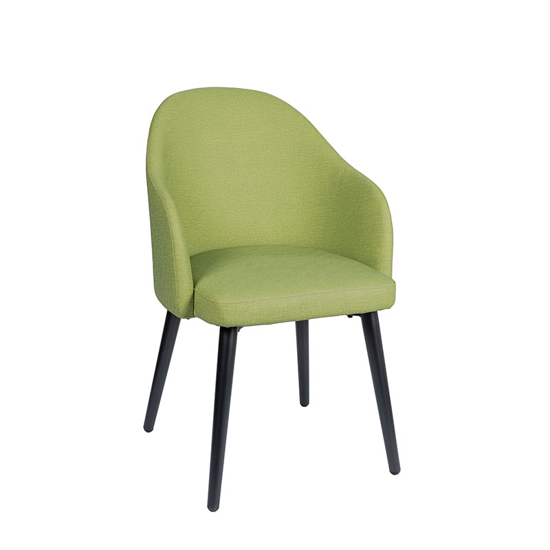 sillón monza tapizado verde