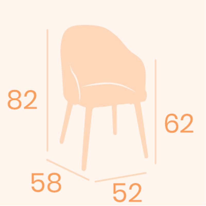 Dimensiones sillón monza REYMA