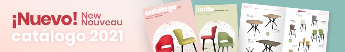 nuevo catálogo mobiliario para hosteleria y contract novedades 2021