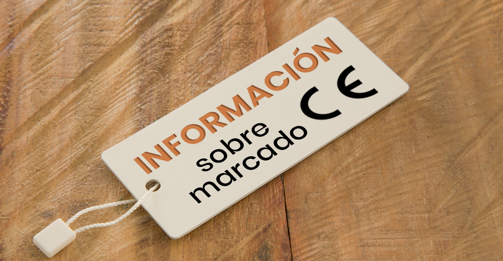 información sobre marcado CE mobliario hostelería