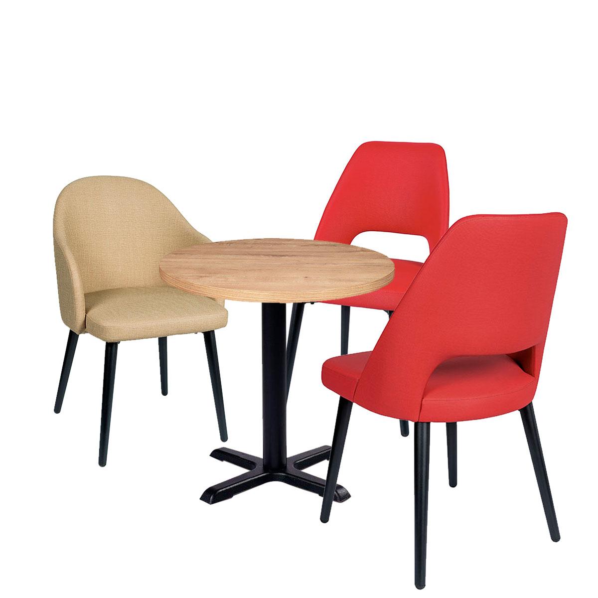 conjunto mesa michigan con silla arona y como